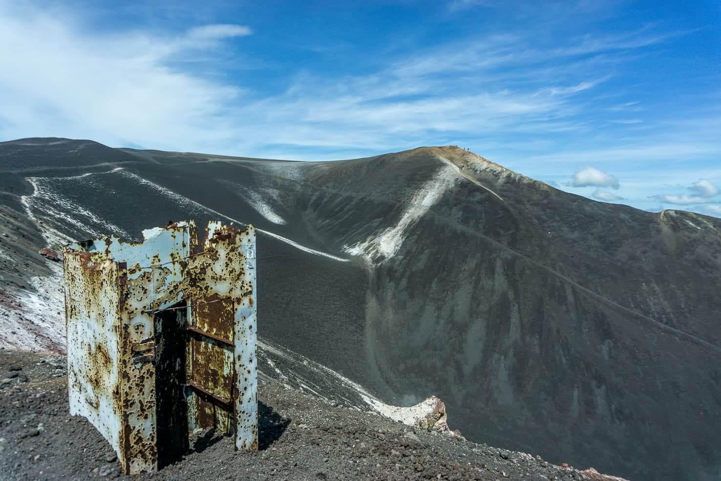 Cerro Negro volcano near Leon, Nicaragua