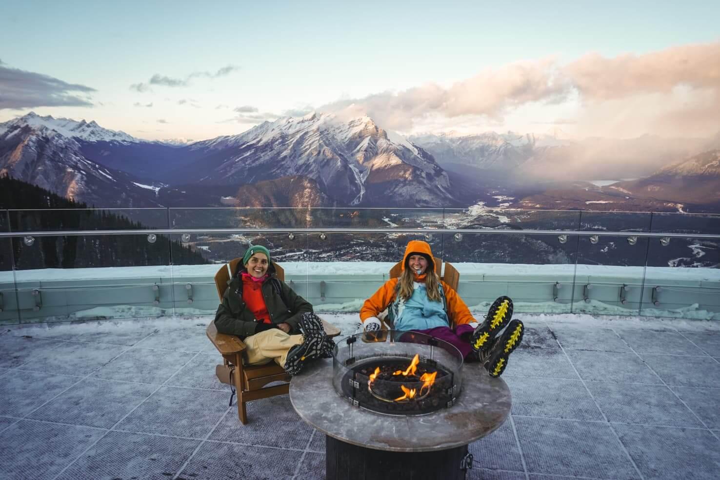 Sulphur Mountain Hike vs Banff Gondola, Banff National Park