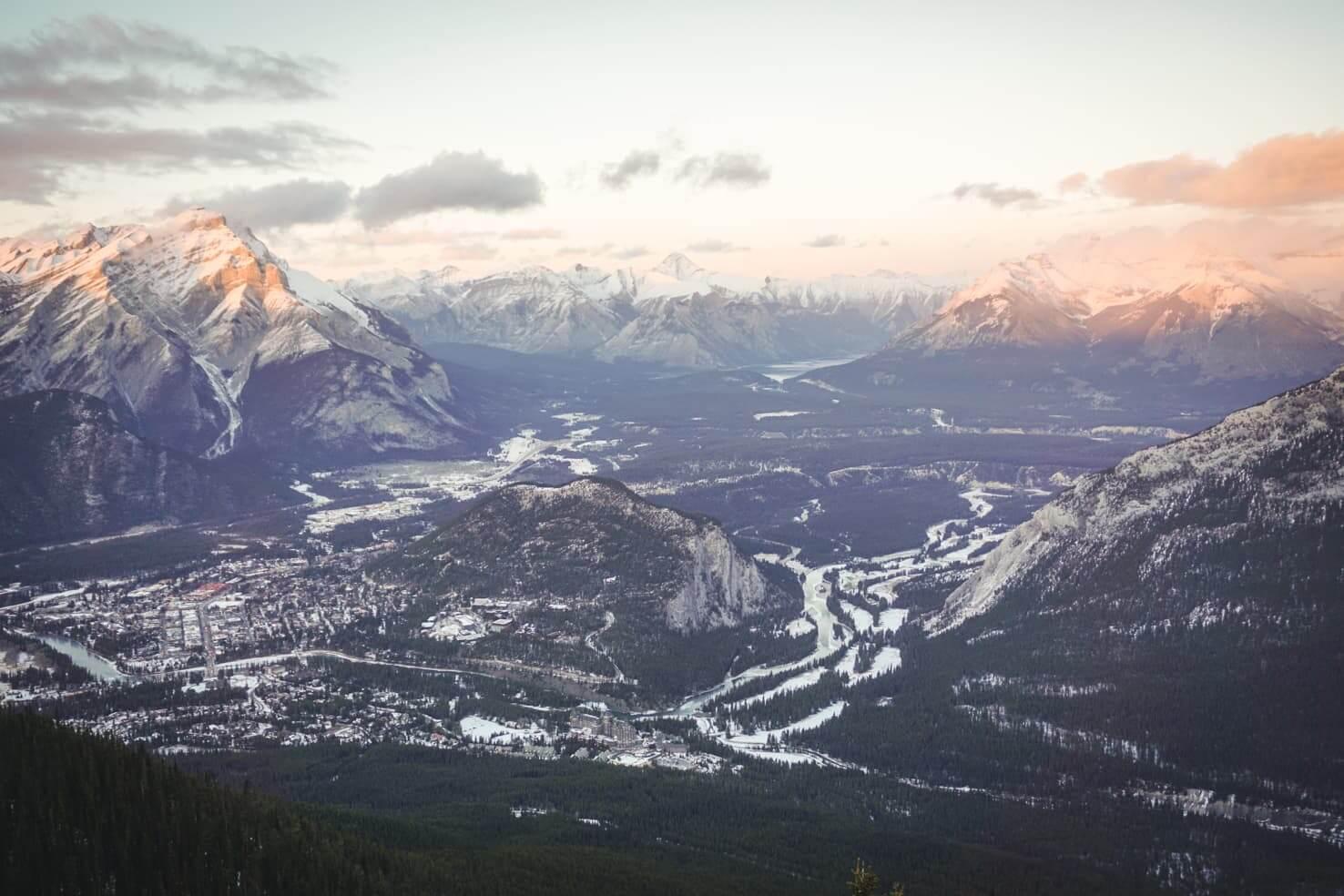 Sulphur Mountain Hike, Banff National Park