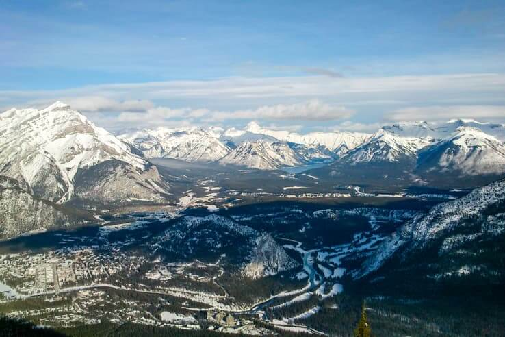 Sulphur mountain hike vs. Banff gondola ride