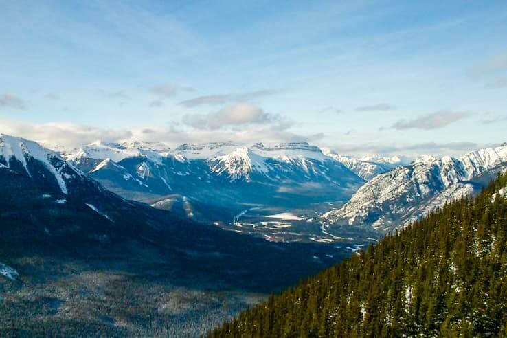 Sulphur mountain hike vs. Banff gondola ride