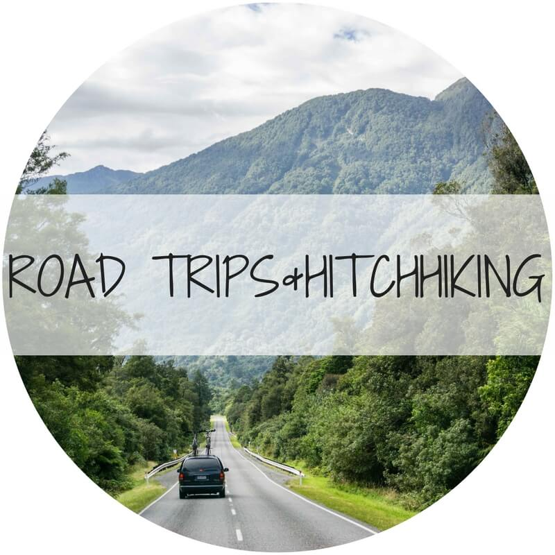 road trip and hitchhiking - Travel with the Smile - adventure travel blog 1