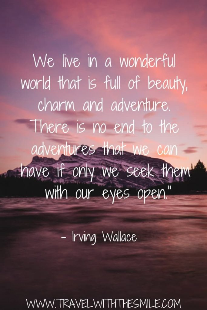 adventure quotes - Travel with the Smile