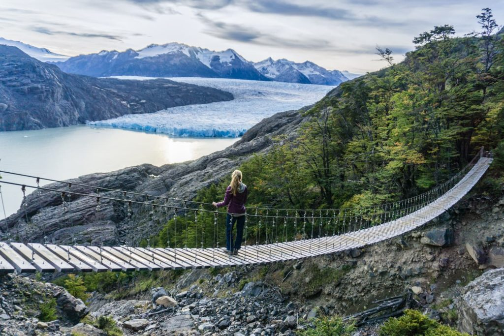 50 insane pictures of Chile to inspire your travels - Grey Glacier, W trek in Torres del Paine National Park, Patagonia