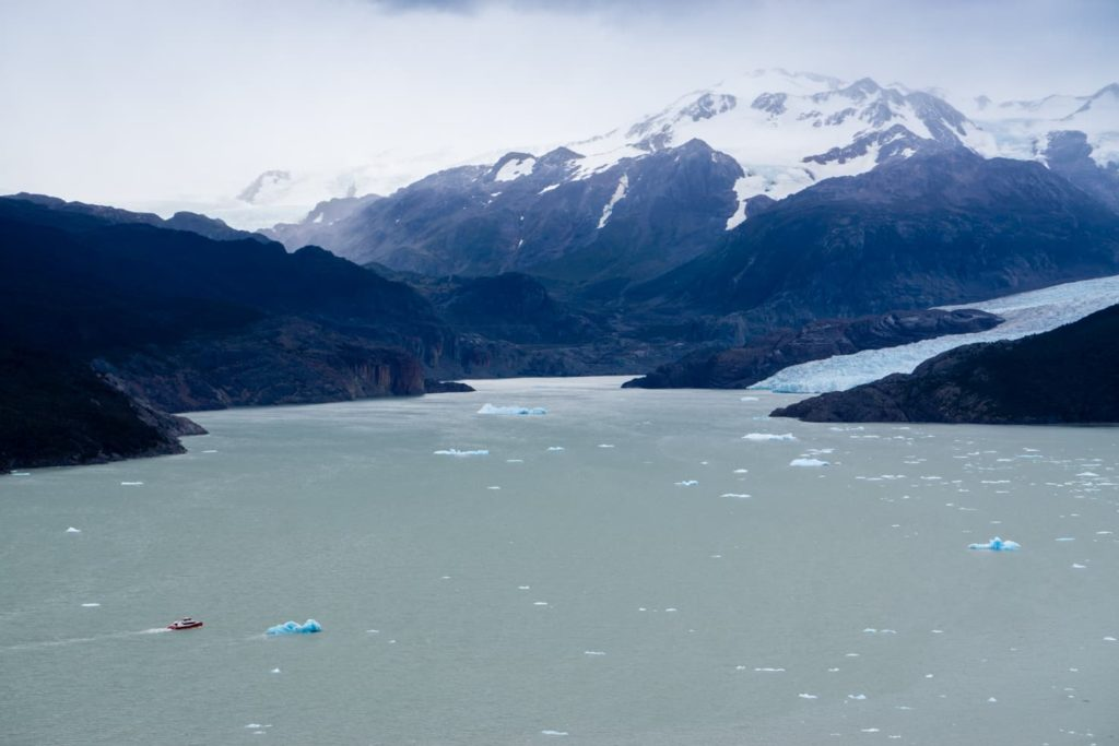 50 insane pictures of Chile to inspire your travels - Grey Glacier during W trek in Torres del Paine National Park, Patagonia, Chile