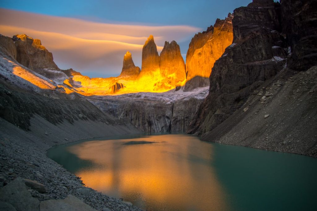 50 insane pictures of Chile to inspire your travels - W trek in Torres del Paine National Park, Patagonia, Chile