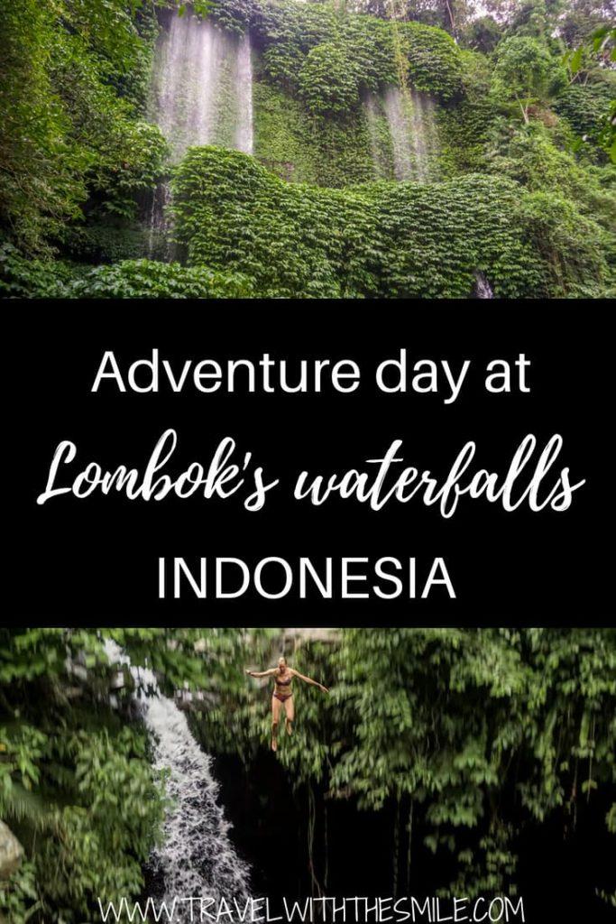 Benang Kelambu & Benang Stokel waterfalls - adventure day in Lombok