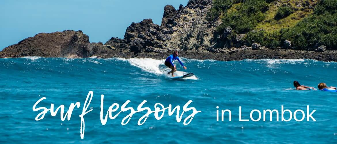 Surf lessons in Lombok – our experience with Lombok surf school