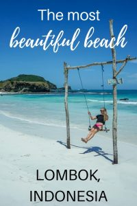 Tanjung Aan Beach is the most beautiful beach in Lombok, Indonesia. Read the post and find out why. | Best beach in Lombok | Things to do in Lombok | What to do in Lombok | #lombok #indonesia