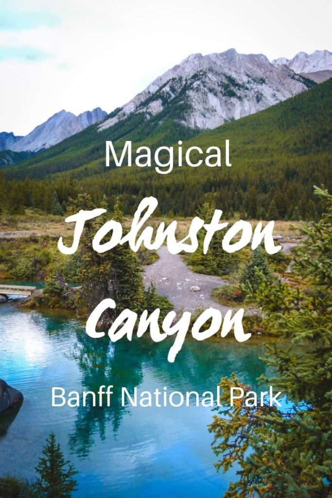 Johnston Canyon hike to Ink Pots, one of the most beautiful hikes in Canadian Rockies. It's a popular hike, prepare before you go. Here's everything you need to know. | Banff National Park | Hiking in Banff National Park | Canadian Rockies | What to do in Banff | What to see in Banff | Banff activities | #banff #canada #banffnationalpark #canadianrockies #hiking #outdoors #adventure