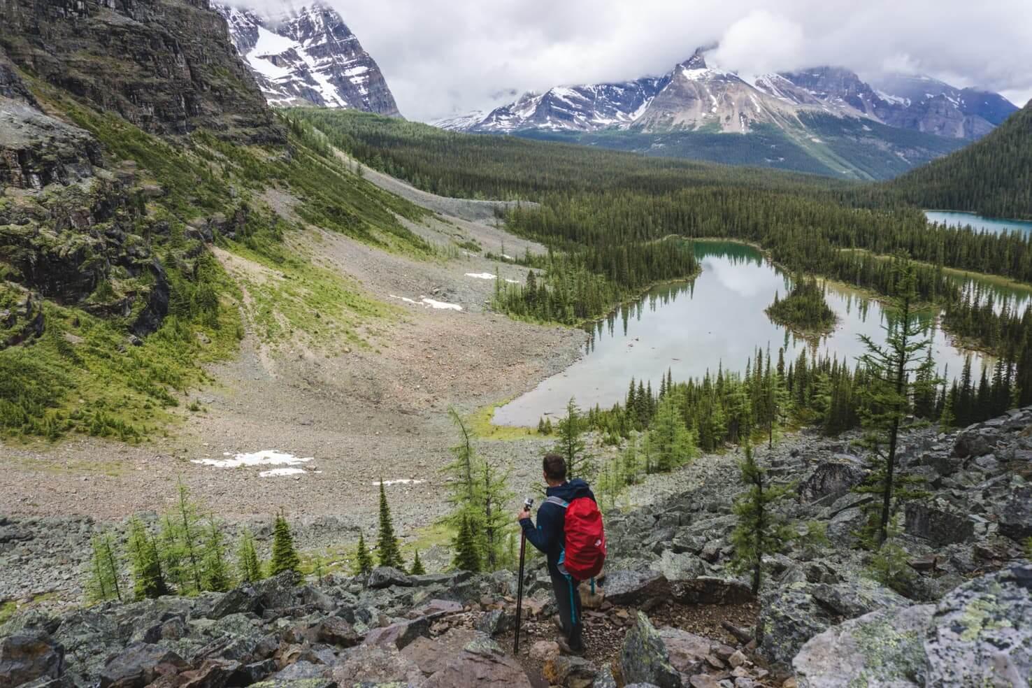 Hiking & Camping at Lake O'Hara, Yoho National Park, Canada