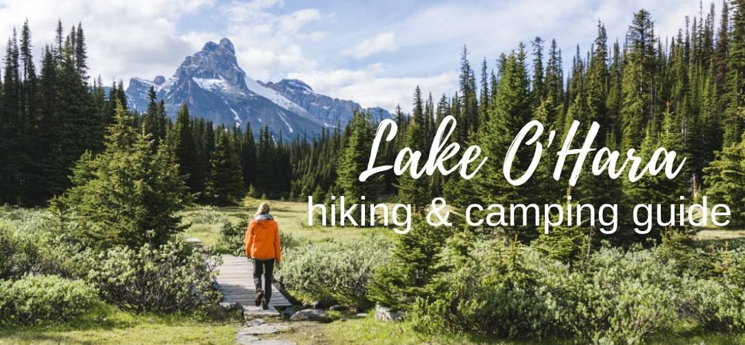 Hiking & Camping at Lake O'Hara: the complete guide to Yoho's paradise