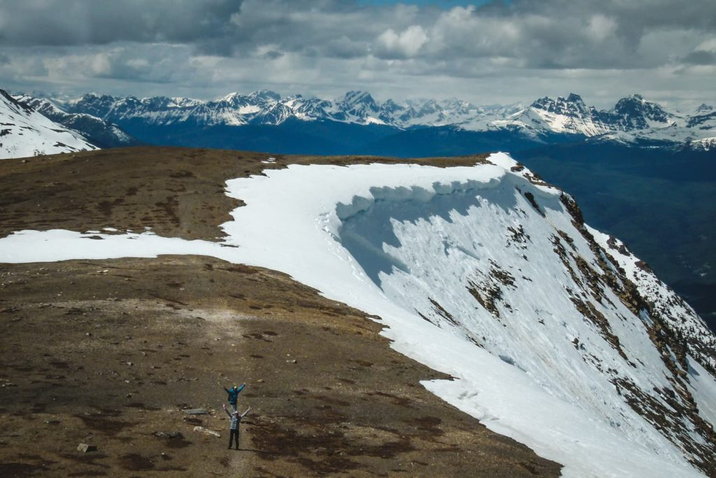 Hiking in Jasper National Park - Whistlers Mountain Hike