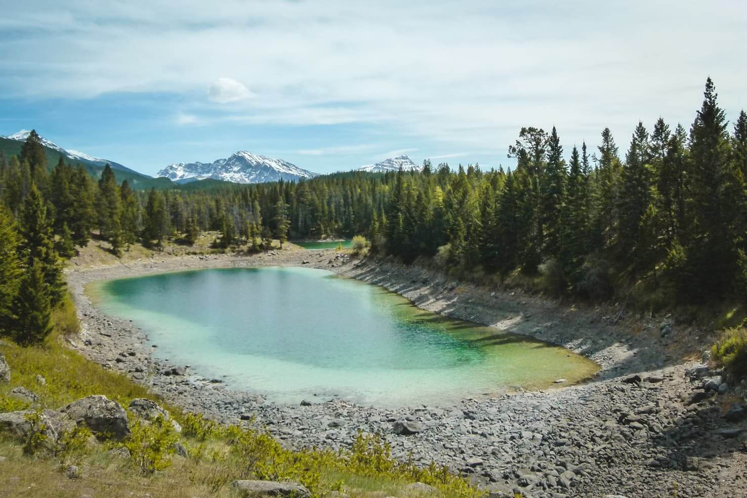 Hiking in Jasper National Park - Valley of the Five Lakes