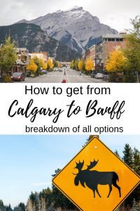 How to get from Calgary to Banff - complete breakdown of all options | Transport from Calgary to Banff | Calgary airport to Banff | How to get to Banff | #banffnationalpark #canadianrockies #calgary