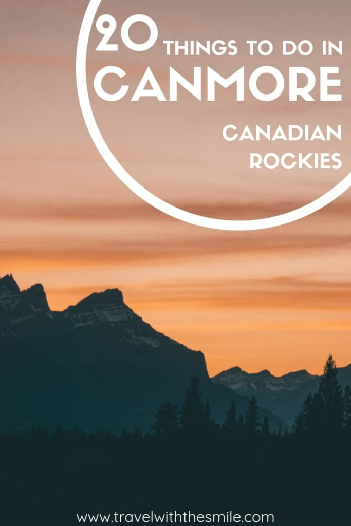 20 fun outdoor things to do in Canmore - hiking, mountain biking and more adventure ideas. Escape the crowds in Banff and visit Canmore mountain town instead. | Things to do in Canmore | Things to do in Canadian Rockies | Canmore | Canadian Rockies | #canada #canadianrockies #canmore #hiking #adventure #outdoors