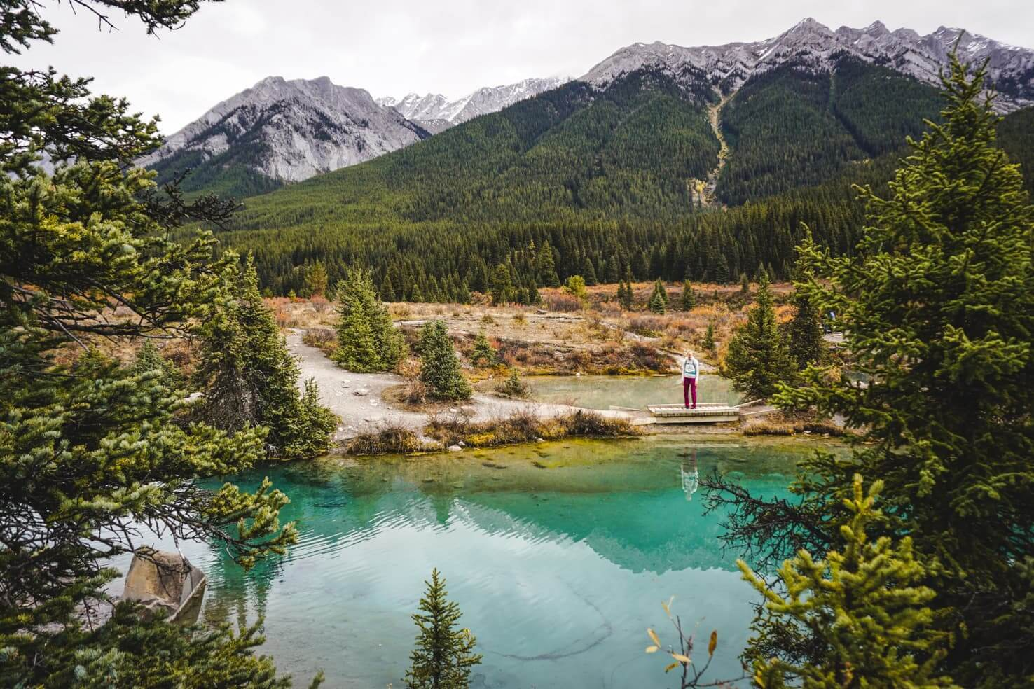 Best Banff hikes - Ink Pots