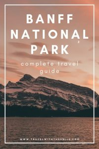 The ultimate travel guide to Banff National Park with everything you need to know for an amazing trip to the heart of the Canadian Rockies. | Banff National Park | Canadian Rockies | Things to do in Banff | Hiking in Banff | #canadianrockies #banffnationalpark #outdoors #adventure #bucketlist #hiking #wildlife