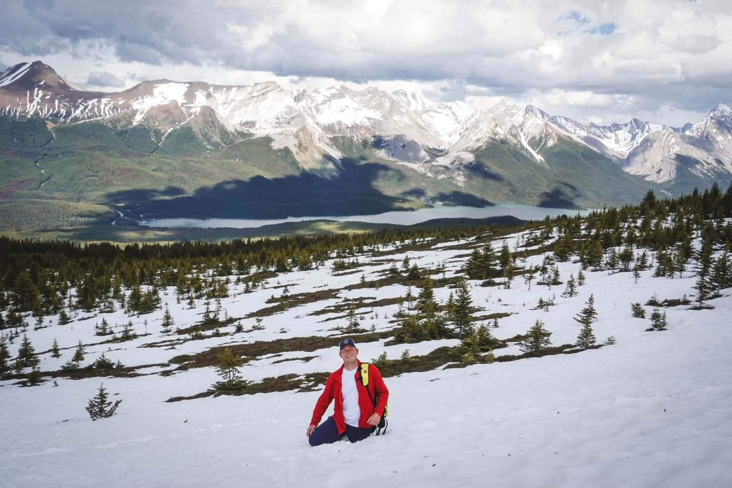 Western Canada Road Trip from Calgary to Vancouver - Bald Hills Hike in Jasper