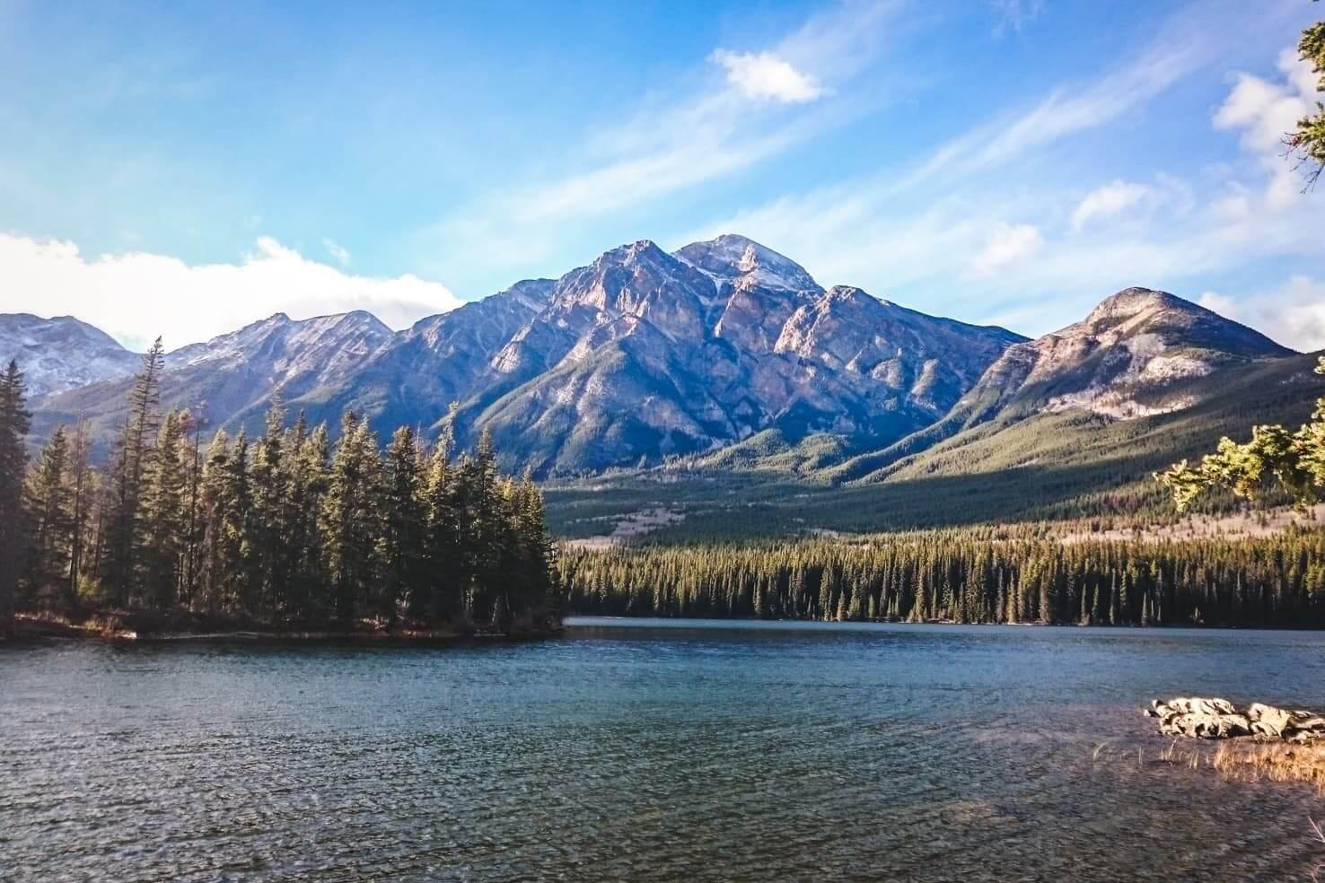 Adventure travel guide to Jasper National Park - Pyramid Lake