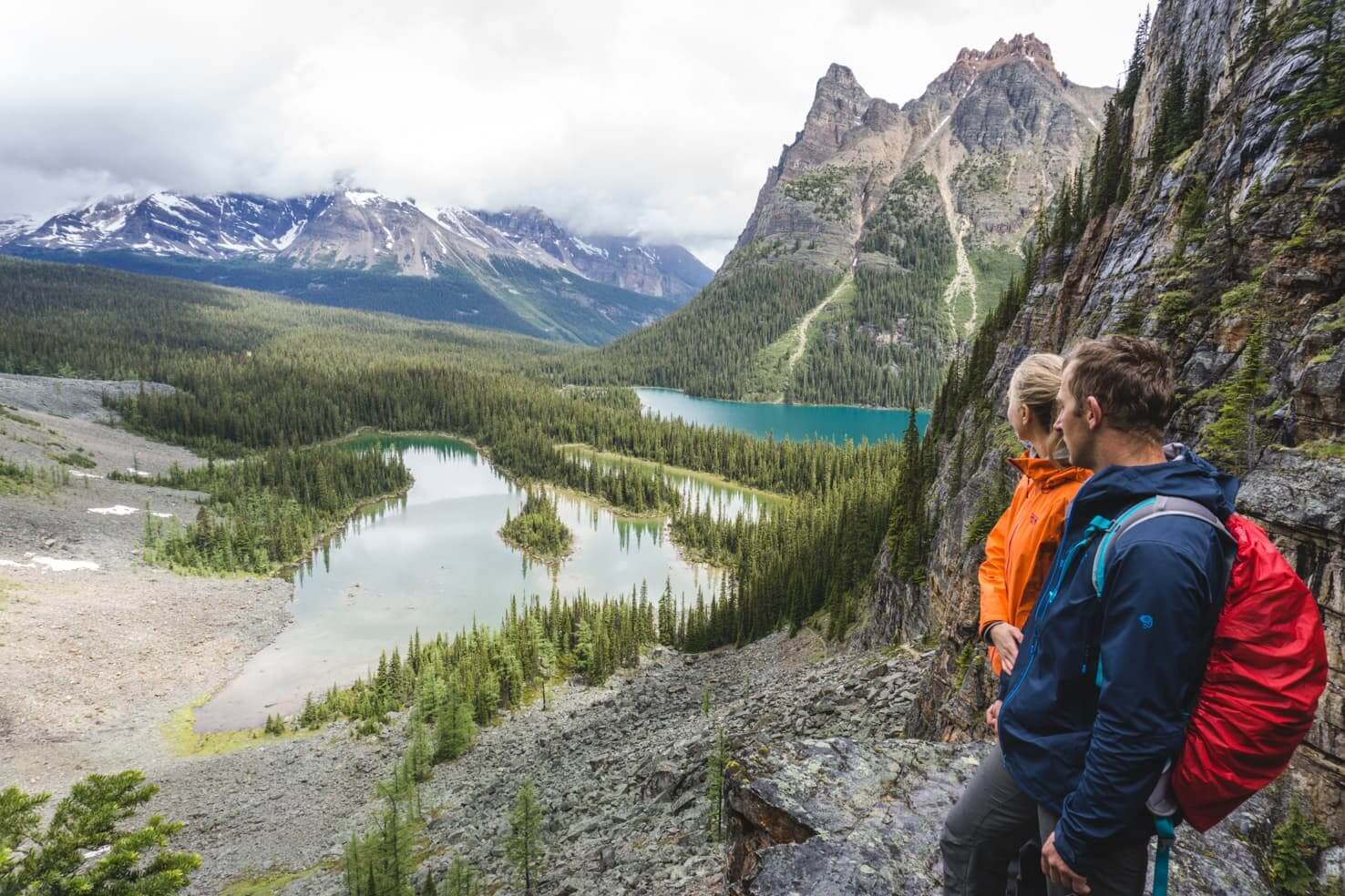 Adventure travel guide to Yoho National Park - hiking in Lake O'Hara area