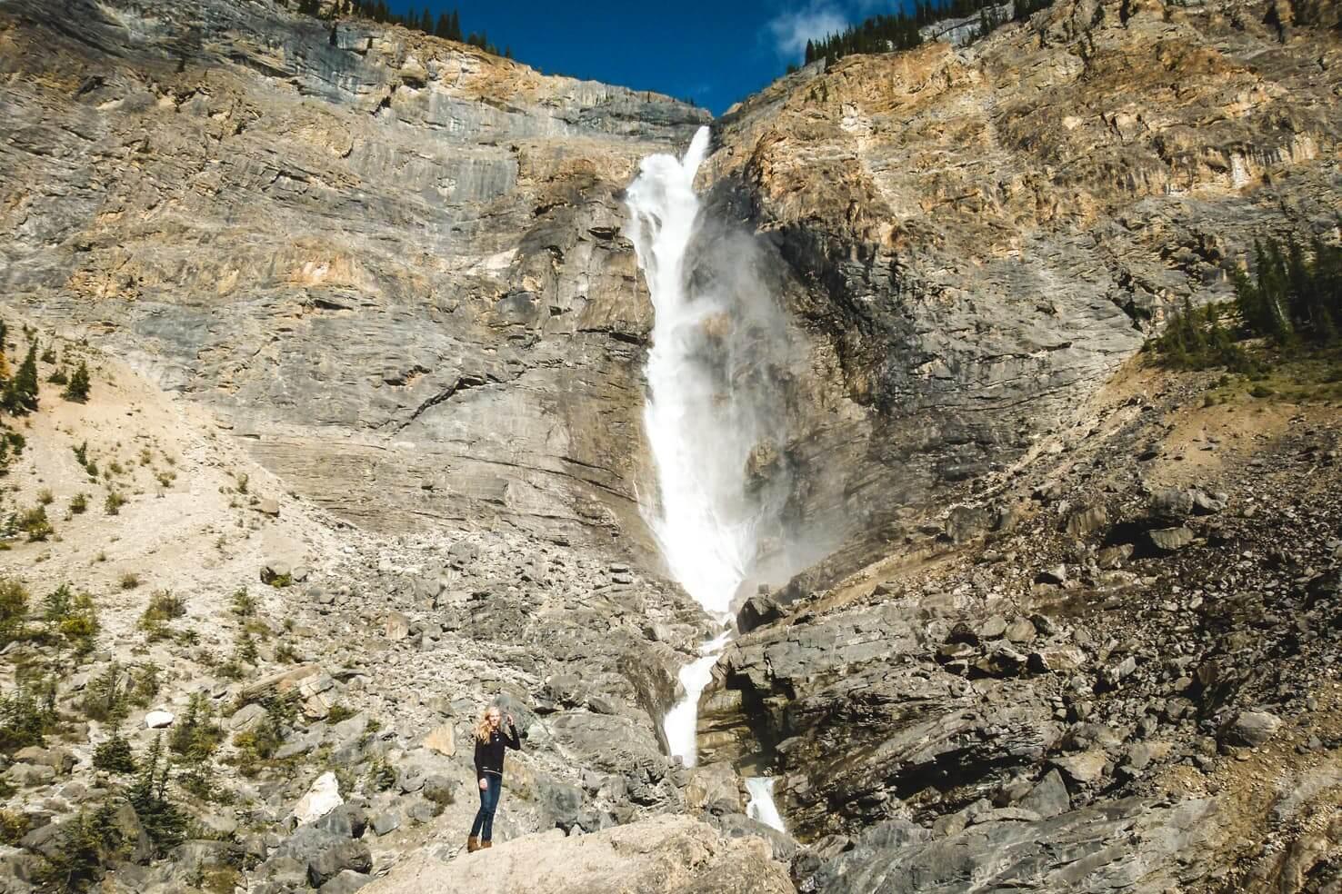Adventure travel guide to Yoho National Park - Takkakaw Falls