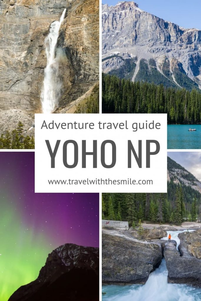 Complete travel guide to Yoho National Park, a lesser known gem of the Canadian Rockies, with everything you need to know for your amazing trip. | Yoho National Park | Canadian Rockies | Things to do in Yoho | Hiking in Yoho | #canadianrockies #yohonationalpark #outdoors #adventure #bucketlist #hiking #wildlife #yoho