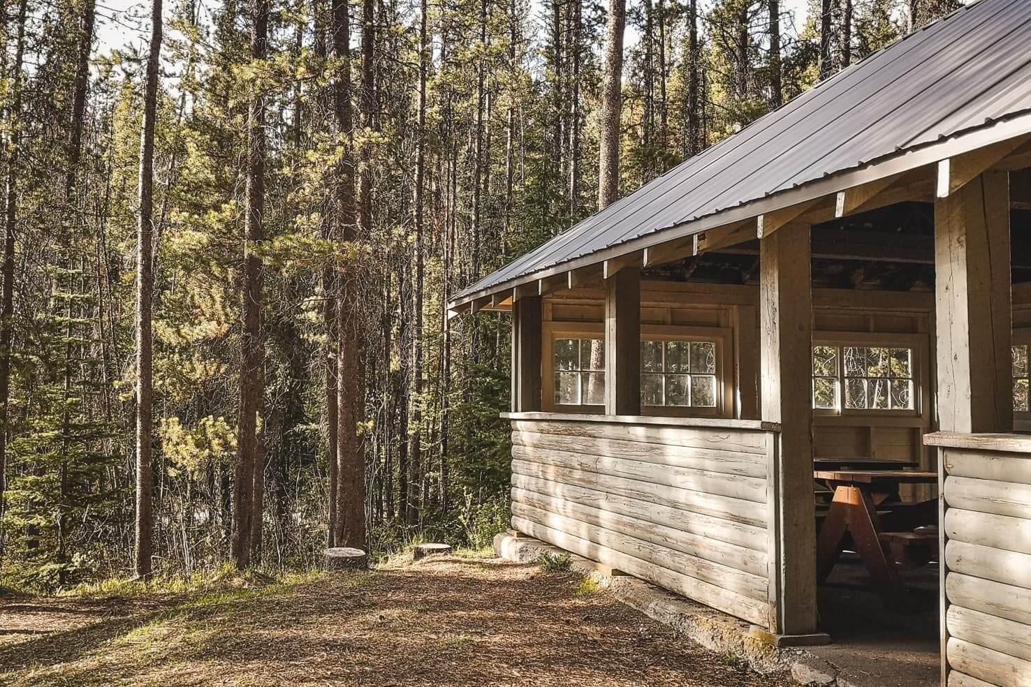 Camping in Jasper National Park - Jonas Creek Campground