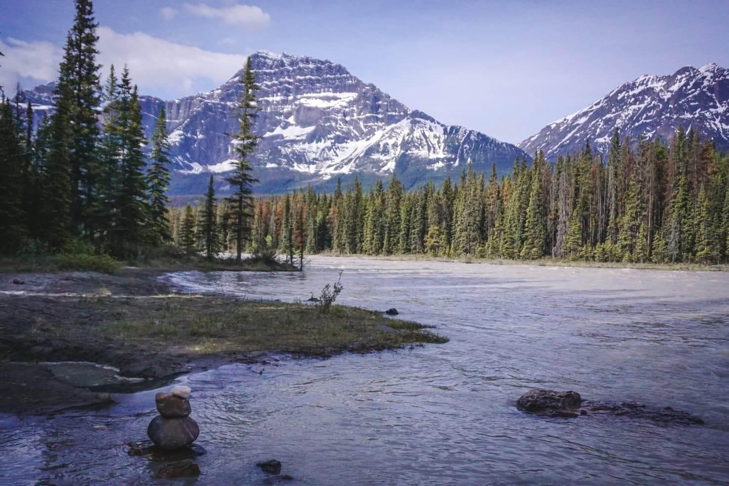 Camping in Jasper National Park - Kerkeslin Campground