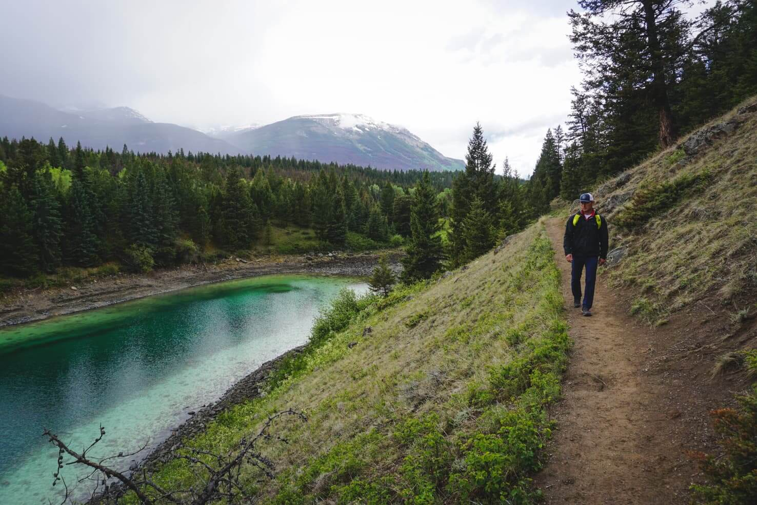 Valley of the Five Lakes Hike, Jasper National Park