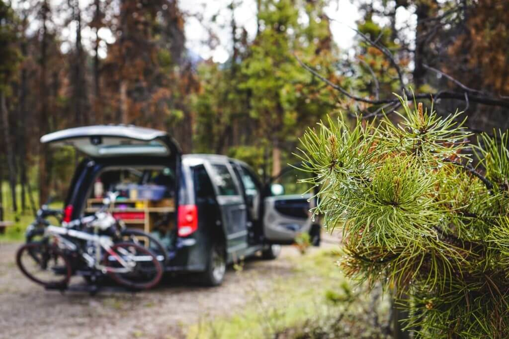 Camping in Jasper National Park - Wabasso Campground