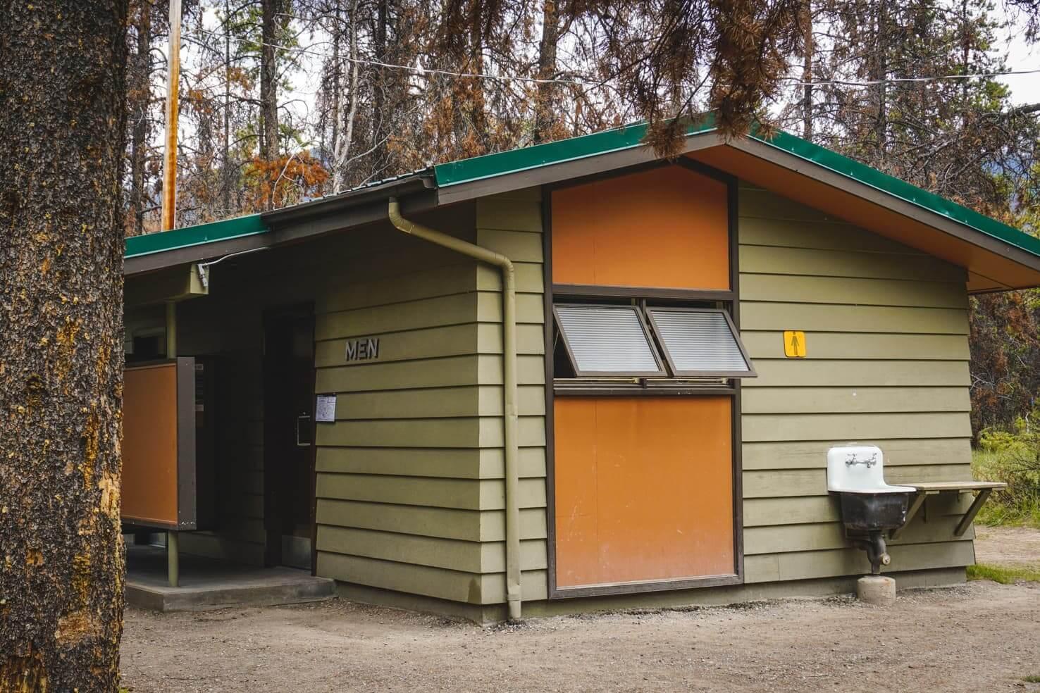Camping in Jasper National Park - Wapiti Campground