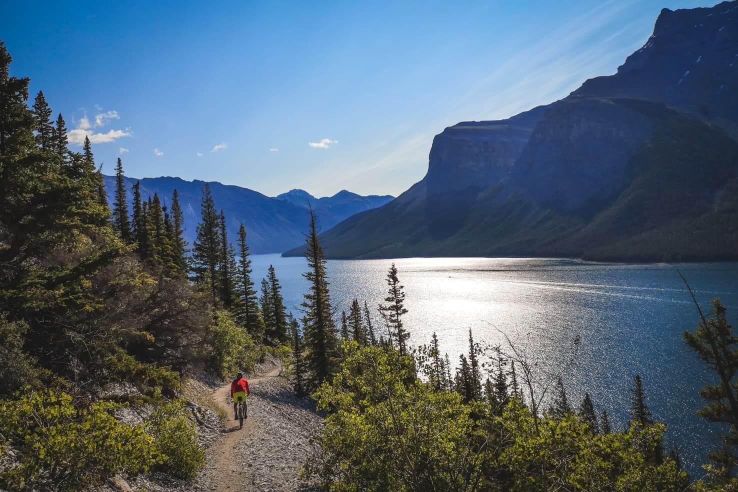 Aylmer Lookout Hike & Bike Trip, Banff National Park