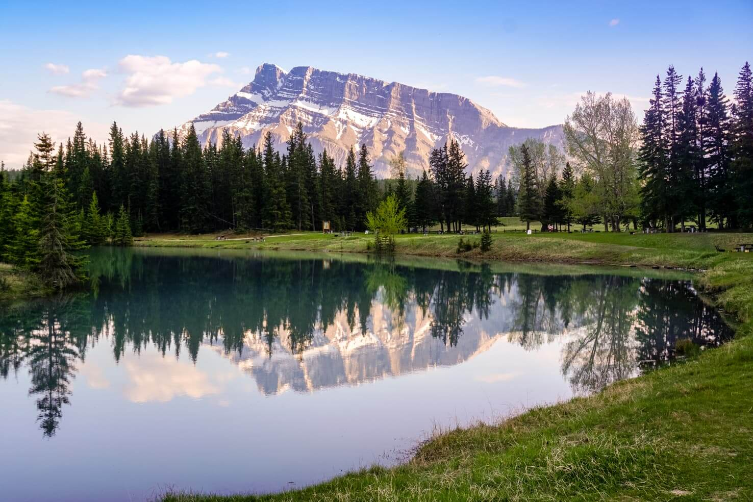 Camping in Banff National Park - Cascade Ponds