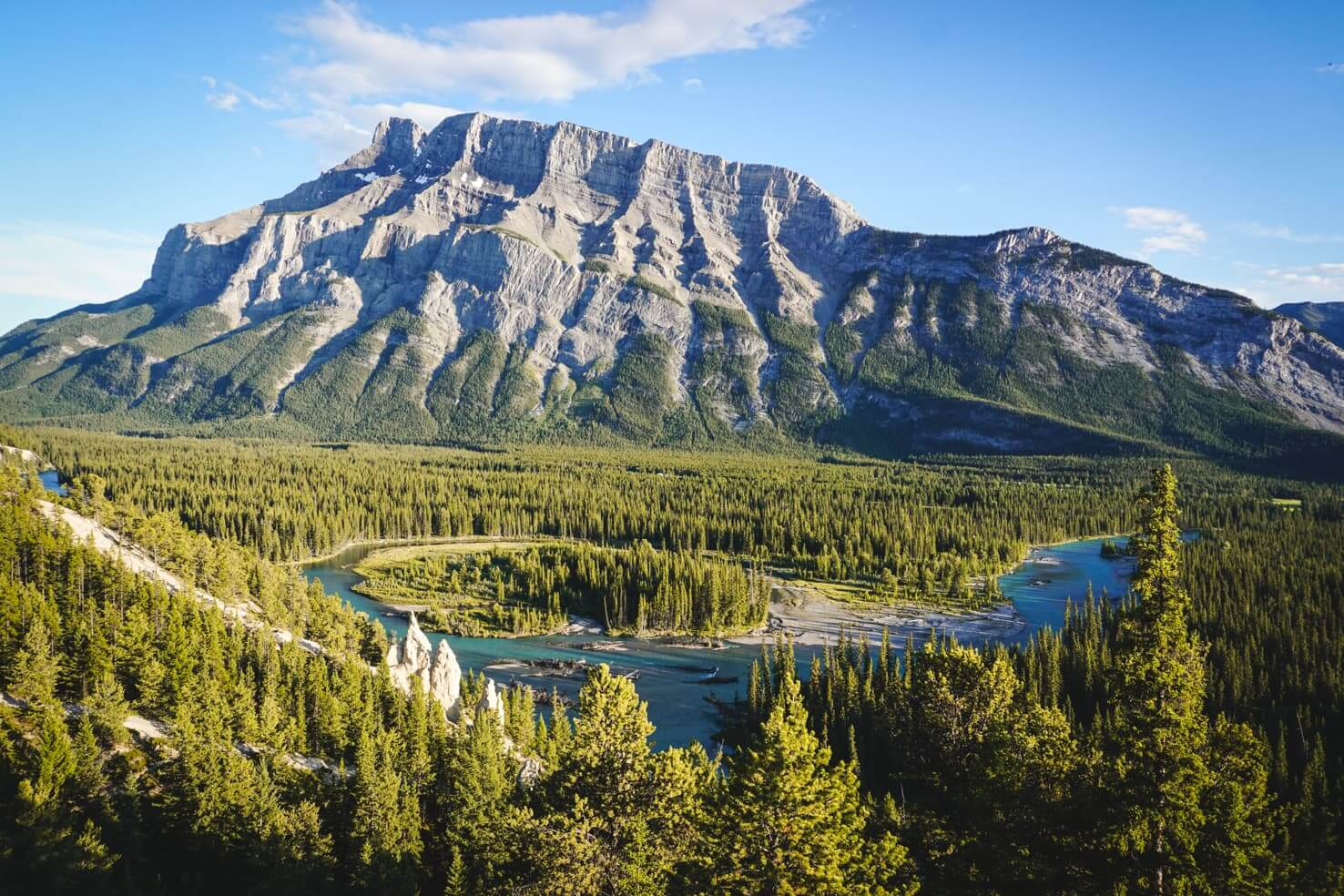 Camping in Banff National Park - Hoodoos