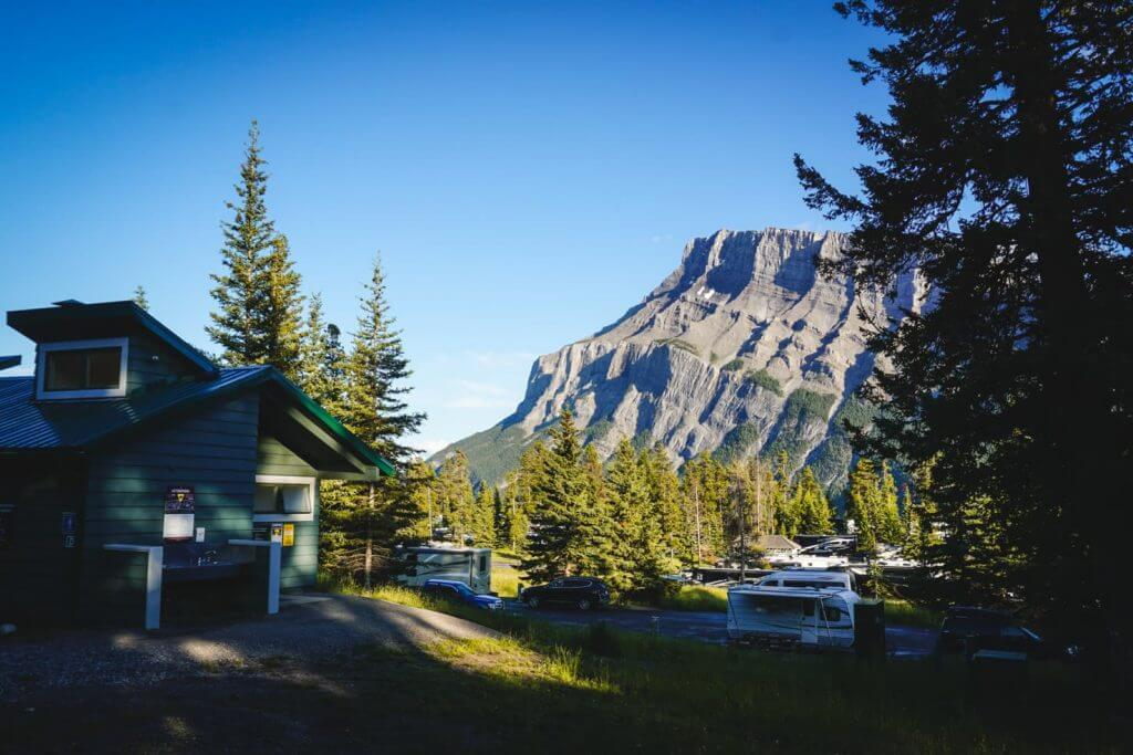 Camping in Banff National Park - Tunnel Mountain Campground
