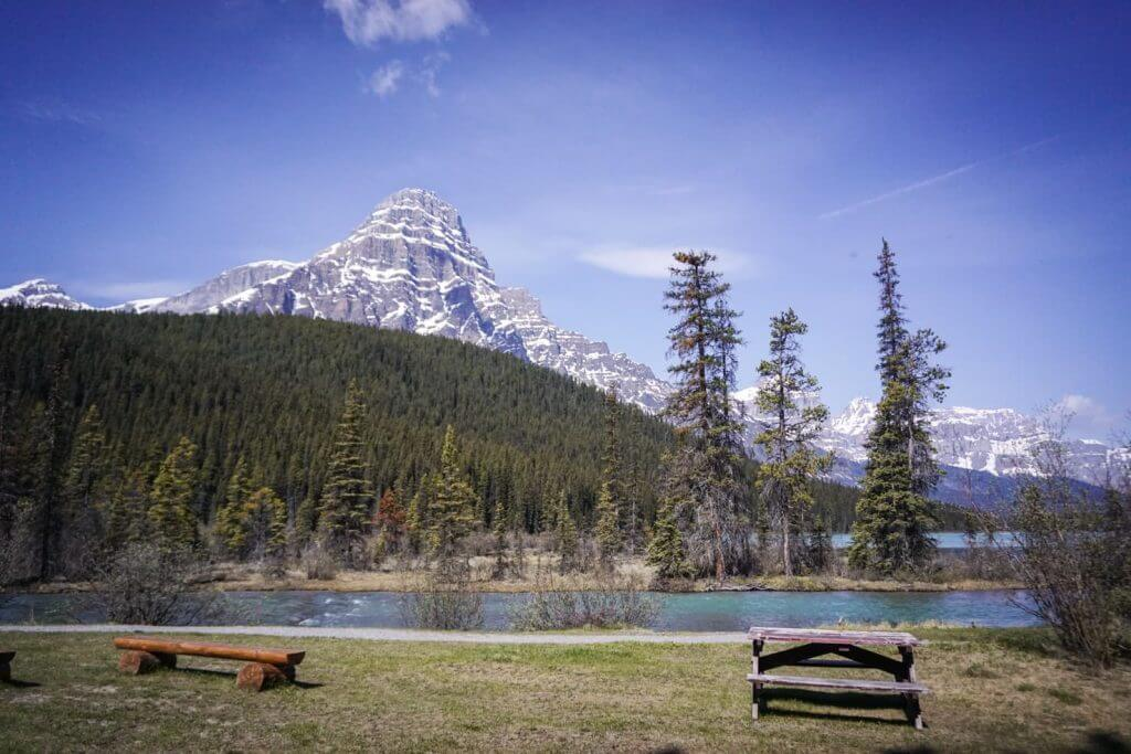 Camping in Banff National Park - Waterfowl Lakes Campground-2
