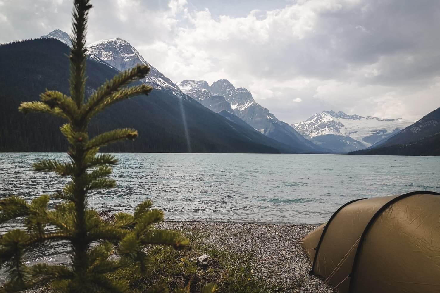 cofCamping in Banff National Park