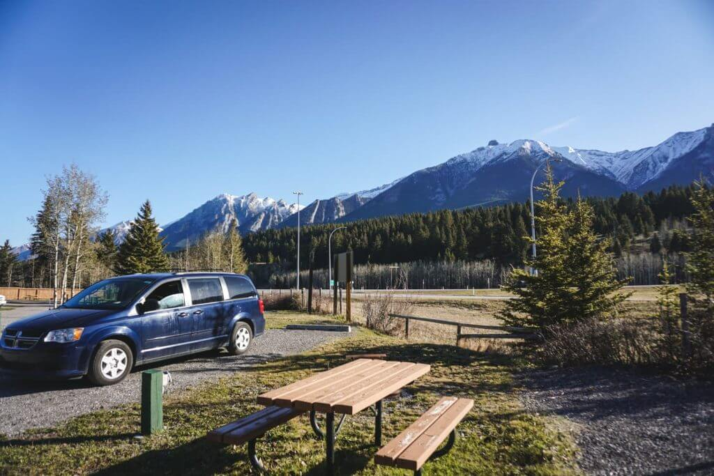 Wapiti Campground in Canmore