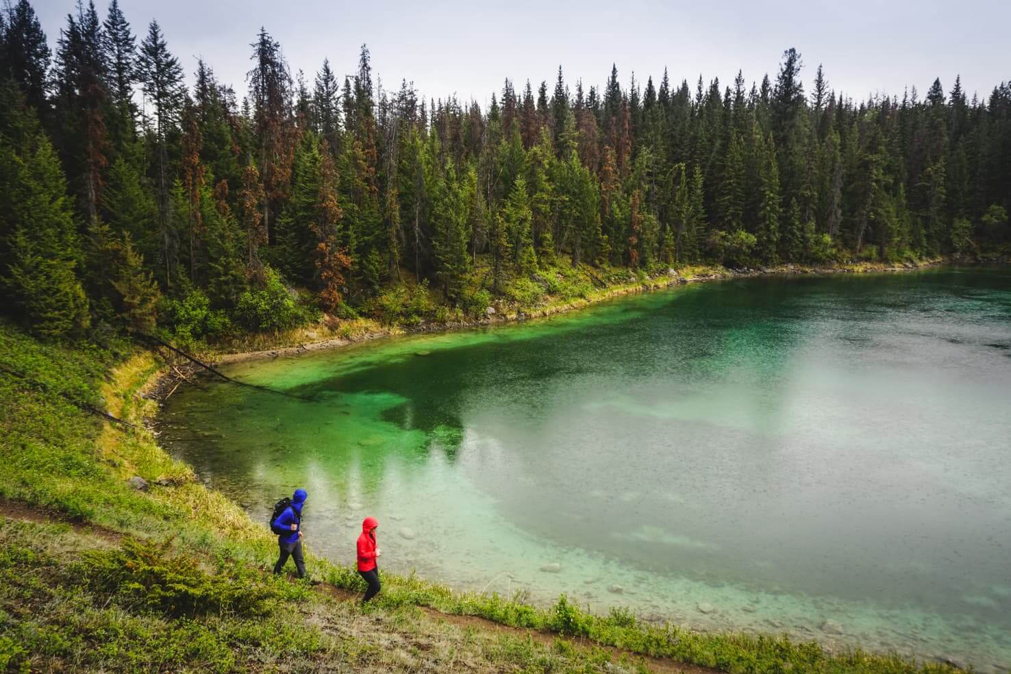 Things to do in Jasper National Park - 10 Hike around emerald lakes at Valley of the Five Lakes