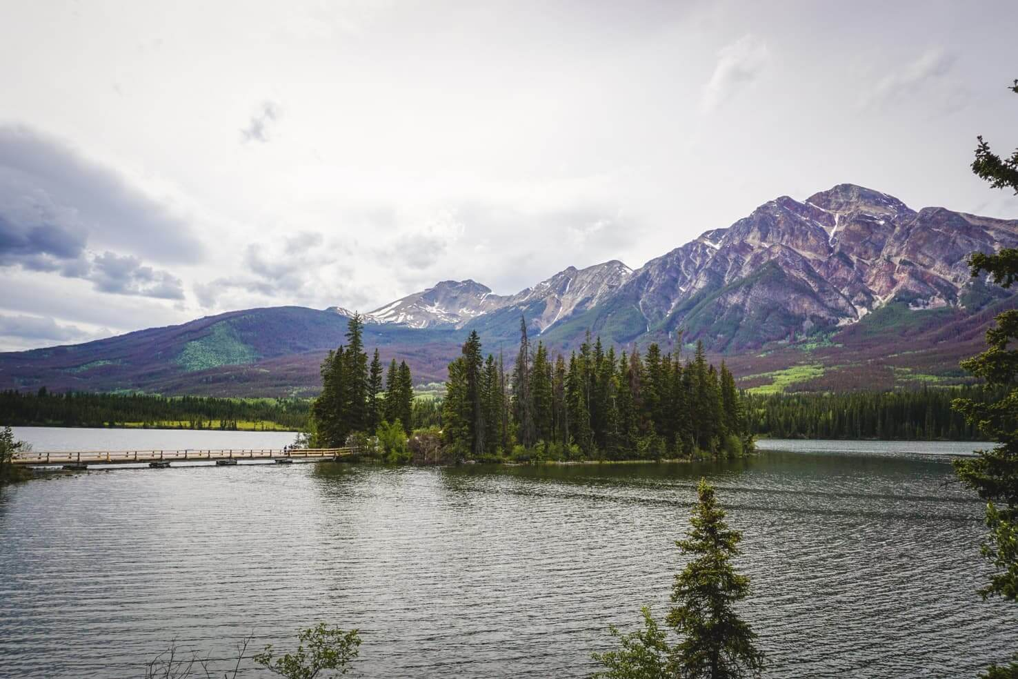 Things to do in Jasper National Park - 12 Visit the picturesque Pyramid Island
