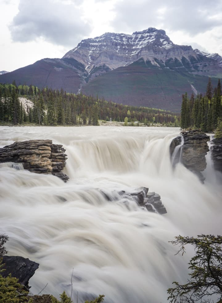 Things to do in Jasper National Park - 14 Walk around Athabasca Falls