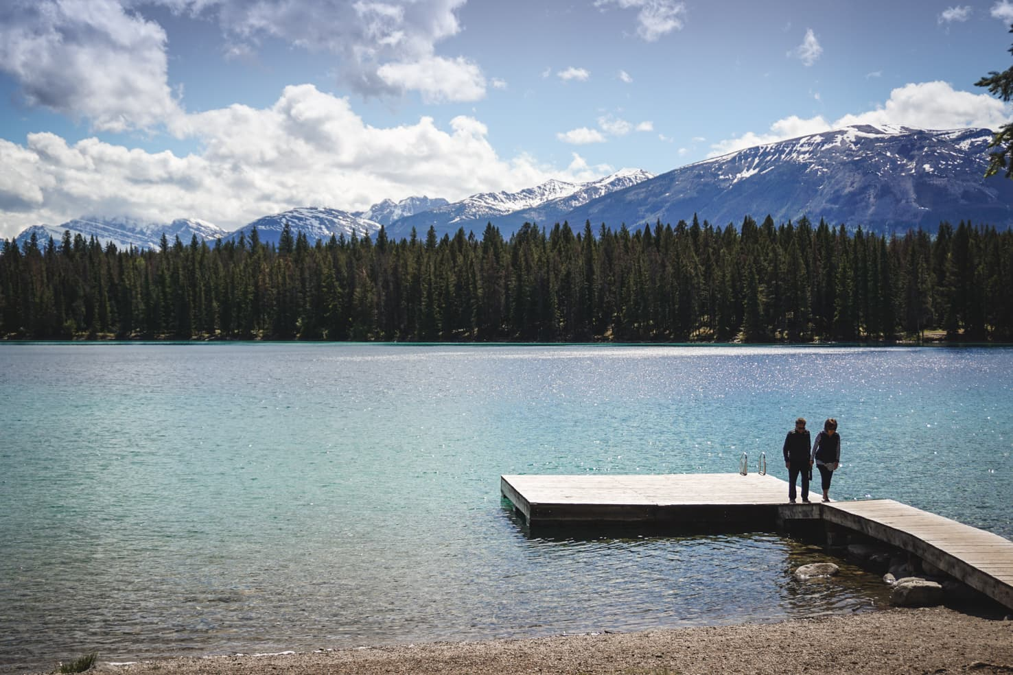 Things to do in Jasper National Park - 17 Enjoy a swim at Lake Annette
