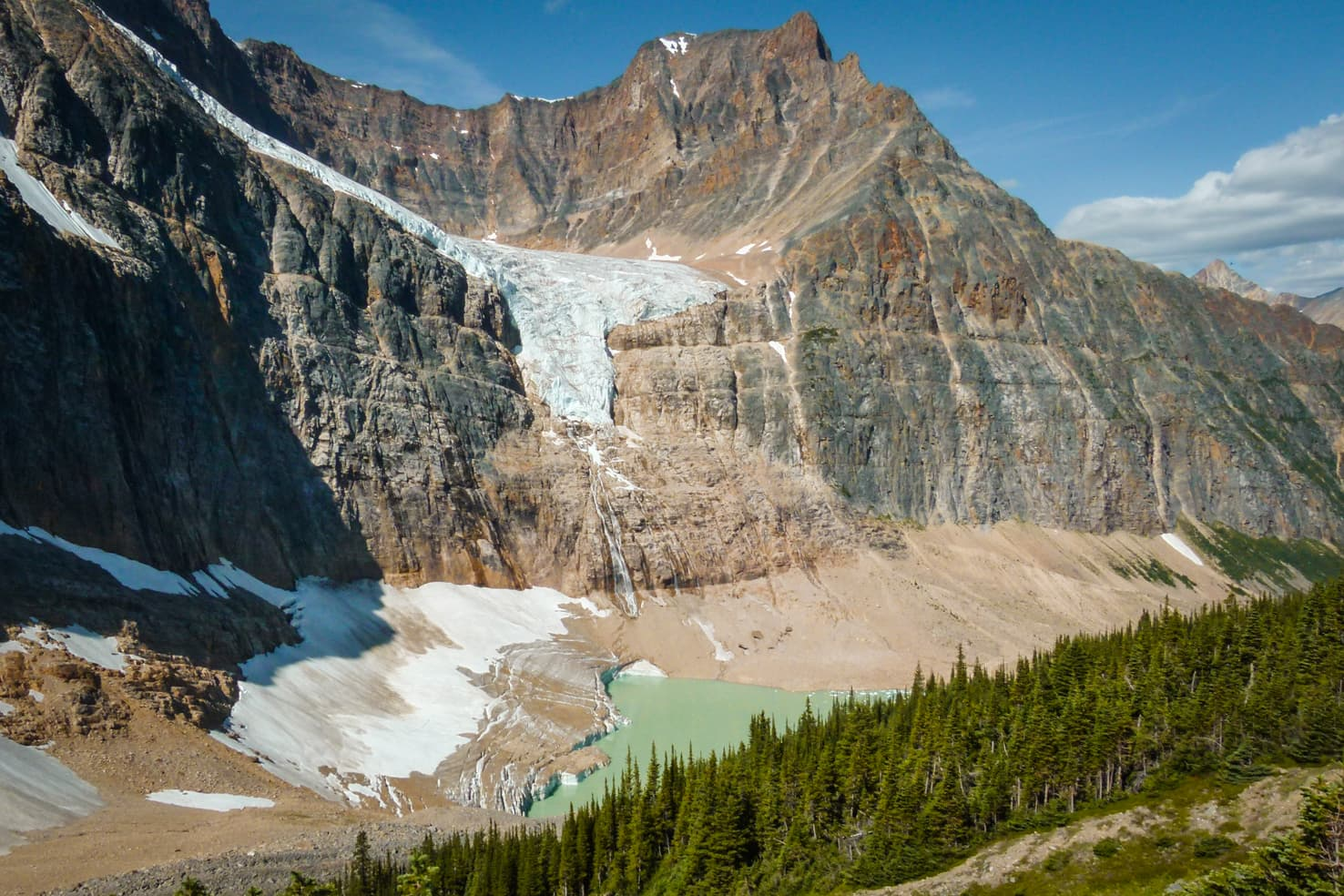 Things to do in Jasper National Park - 20 Hike to the hanging glacier at Edith Cavell Meadows