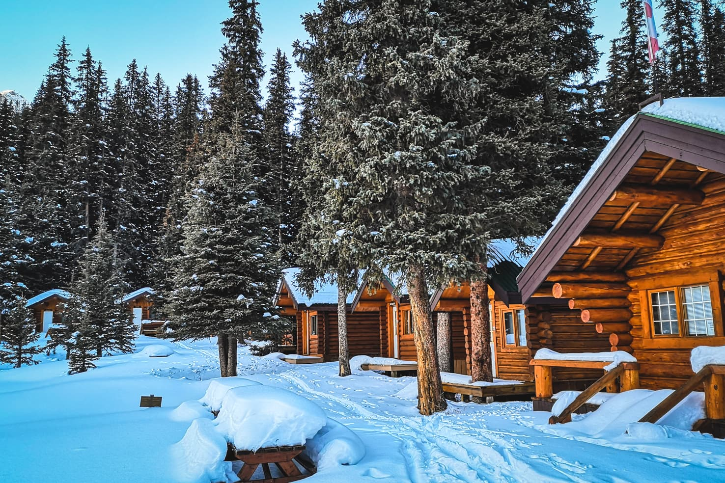 Things to do in Jasper National Park - 34 Stay in a rustic log cabin