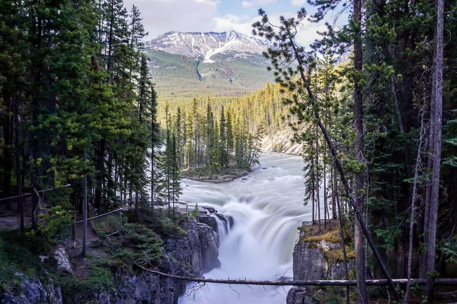 Things to do in Jasper National Park - 8 Admire Sunwapta Falls