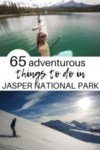Things to do in Jasper | Plan your dream trip to the largest national park in the Canadian Rockies with our ultimate bucket list of things to do in Jasper National Park. | Jasper National Park | Canadian Rockies | Things to do in Jasper | Hiking in Jasper | Winter in Jasper | Activities in Jasper | #canadianrockies #jaspernationalpark #outdoors #adventure #bucketlist #hiking #wildlife #jasper #adventuretravel