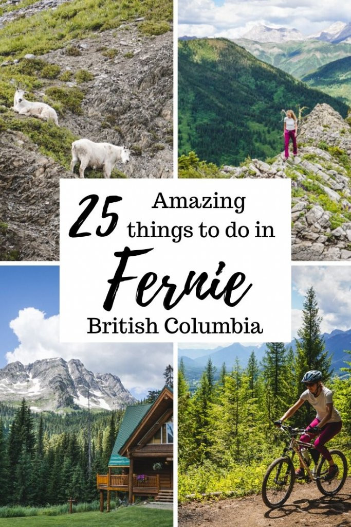 25 things to do in Fernie, British Columbia