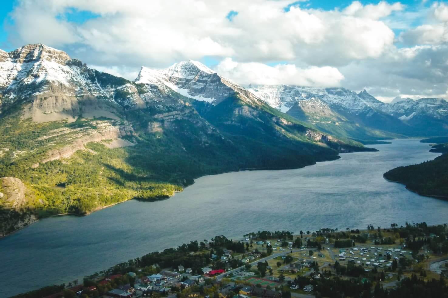 Canadian Rockies road trip itinerary - Bears Hump Hike in Waterton Lakes National Park