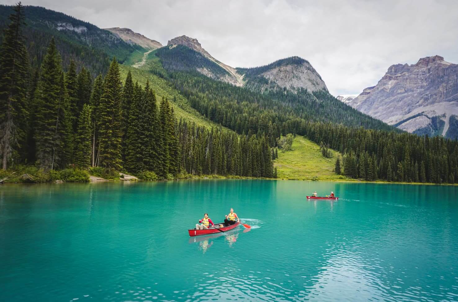 Canadian Rockies road trip itinerary - Emerald Lake, Yoho National Park